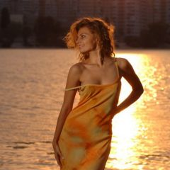 Симпатичная украинская модель