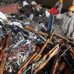 Уничтожение оружия
