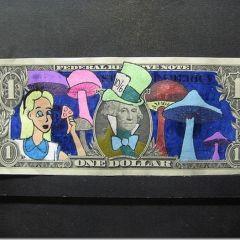 Рисунки на деньгах