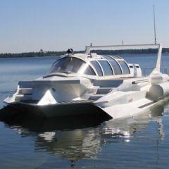 Самая быстрая и красивая подводная лодка