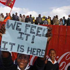 Чемпионат мира по футболу в ЮАР приближается
