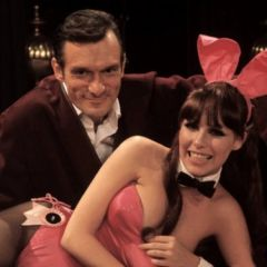 Молодой Хью Хефнер (Hugh Hefner) и классика Playboy