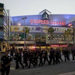 Баскетбольные беспорядки в Лос-Анджелесе