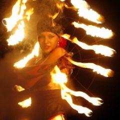 Отчет с международного фестиваля огня в Киеве, Украина