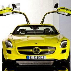 Новый электро-суперкар Mercedes-Benz SLS AMG (фото)