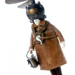 Коллекция фигурок в стиле стимпанк от Stephane Halleux