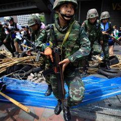 Кровавые столкновения в Тайланде