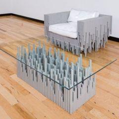 Мебель из необычных материалов от BRC Designs