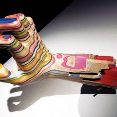 Искусство из старых скейтбордов японского скульптора Haroshi