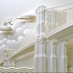 Бумажная скульптура от Джеффа Нишинака (Jeff Nishinaka)