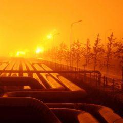 Утечка нефти в Китае