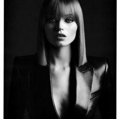 Фотографии Эбби Ли Кершоу (Abbey Lee Kershaw) от Хейди Слимэйн (Hedi Slimane) для китайского выпуска журнала Vogue, август 2010