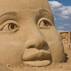 Фестиваль песчаной скульптуры в Берлине