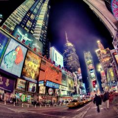 Фотографии Нью-Йорка в стиле HDR