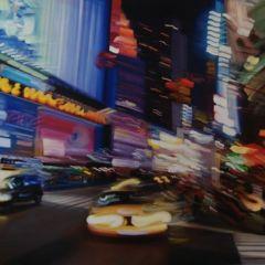 Ночная жизнь в картинах от Александры Пакула (Alexandra Pacula)