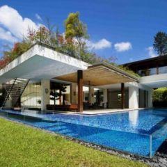 Жилой дом Tangga House в Сингапуре – дизайнерский проект Guz Architects