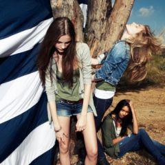 Рекламная кампания American Eagle Outfitters от фотографа Наги Сакай (Nagi Sakai)