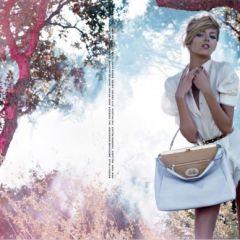 Рекламная кампания Fendi лето 2010 от Карла Лагерфельда (Karl Lagerfeld)