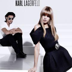 Рекламная кампания Карла Лагерфельда (Karl Lagerfeld) лето 2010 с участием Эбби Ли Кершоу (Abbey Lee Kershaw) и Батиста Джиабикони (Baptiste Giabiconi)