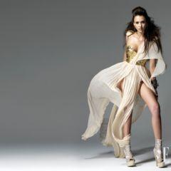Фотографии Джессики Альба (Jessica Alba) для корейского выпуска Elle, июнь 2010
