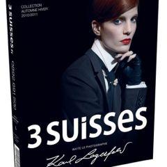 Карл Лагерфельд (Karl Lagerfeld) для каталога одежды Les 3 Suisses