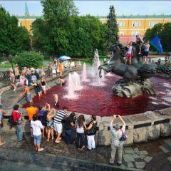 День ВДВ в самом большом городе России - Москве