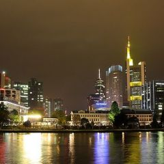 Прогулка по ночному Франкфурту
