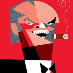 Портреты знаменитостей от иллюстратора Пабло Лобато (Pablo Lobato)