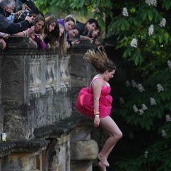 Английские прыжки с моста