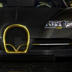 Золотая модификация Bugatti Veyron Mansory Linea Vincero d'Oro