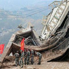 Оползень в Китае