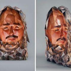 Скульптуры из бумаги от Susan Oliveira