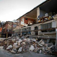 Разрушительное землетрясение в Новой Зеландии