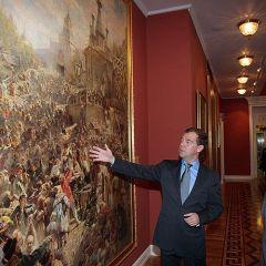 Встреча Медведева и Шварценеггера