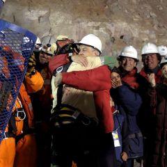 Cпасение шахтеров в Чили (Часть 1)