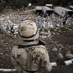 Уничтожение марихуаны в Тихуане
