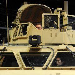 Выставка армии США
