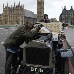 Автопробег на ретромобилях из Лондона в Брайтон