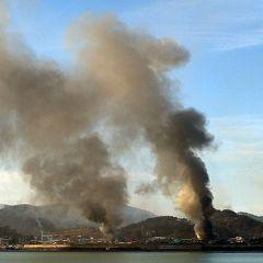 Боевые действия между Северной и Южной Кореей