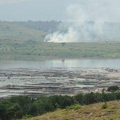Добыча соли в Уганде