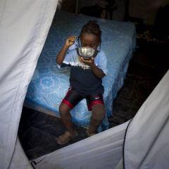 Маленький инвалид с Гаити