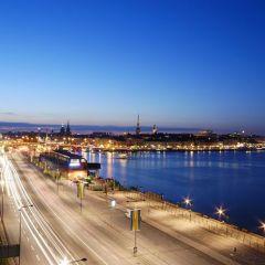 Стокгольм ночью
