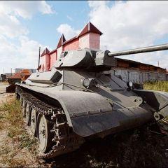 Танкострой в Оёше