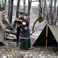 Инсценировка первой мировой войны