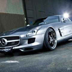 Kicherer SLS 63 Supersport на базе Mercedes SLS