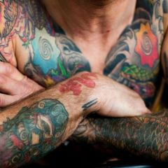 Берлинский фестиваль татуировки