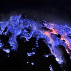 Вулкан острова Ява - Кава Иджен
