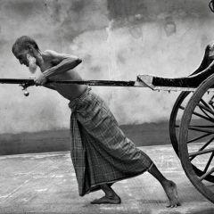 Рикши на улицах Калькутты (Часть 2)