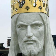 Статуя Иисуса в Польше