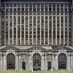 Заброшенный Детройт